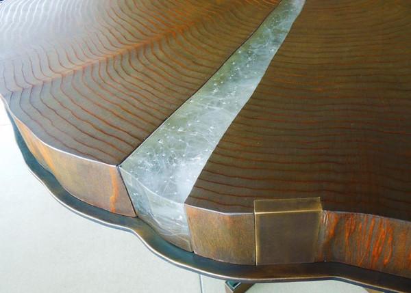 Cast Glass Furniture Detail