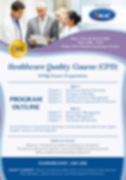FLYER - Healthcare Quality Course - CPHQ