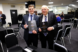 David Bowers with BSL Apprentice, Max Buxton