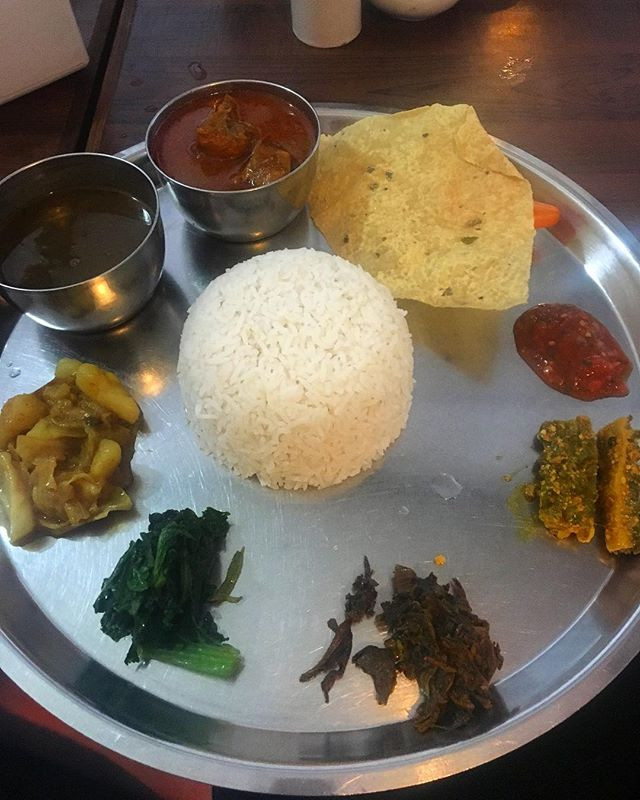 Nepali Rice and Lentils