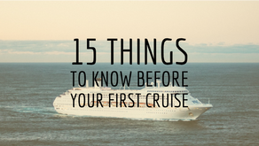 15 Things to Know Before Your First Cruise