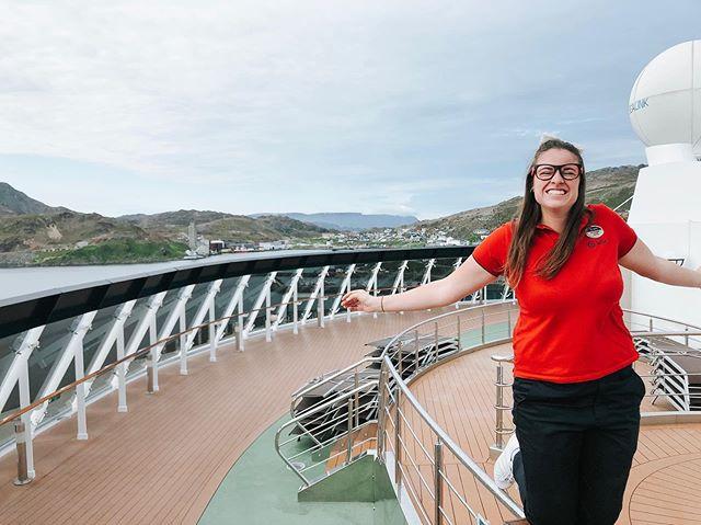 Cruise Ship Employee