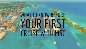 What to know before your first cruise with MSC