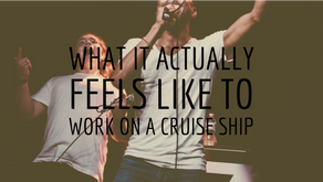 What it ACTUALLY feels like to live on a cruise ship