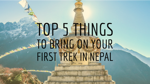 Top 5 Things to Bring on Your First Trek in Nepal