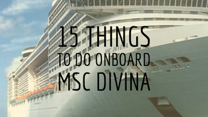 15 Things to Do Onboard MSC Divina