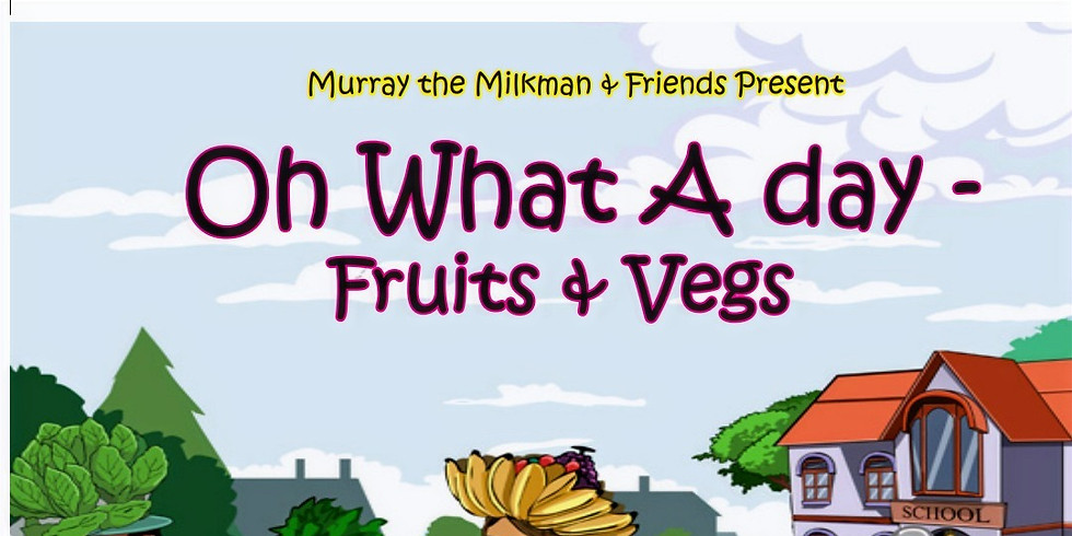 Story time with Murray the Milkman book (learn how to make smoothie)