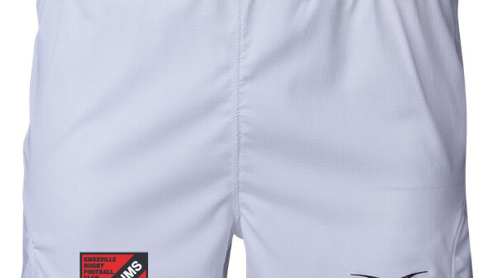 White Short w/ Shield