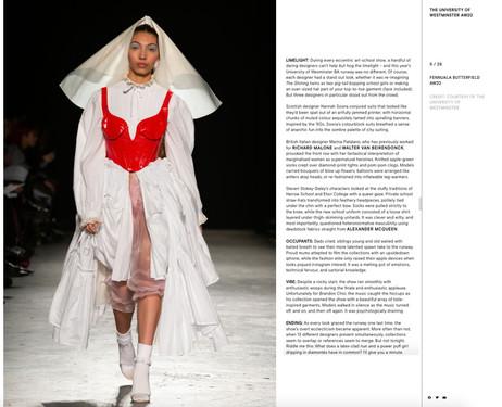 love magazine show report