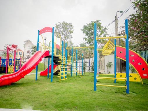 Kinh nghiệm làm sân chơi ngoài trời cho khu đô thị