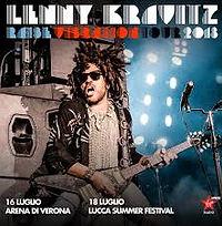 Lenny Kravitz 16 Luglio Arena di Verona