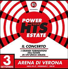RTL Power Hits 2018 Arena di Verona 3 Settembre