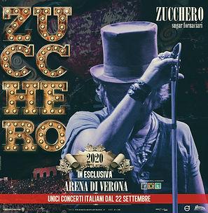 Confermato Zucchero Arena di Verona 2020