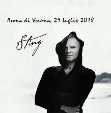 Sting 29 Luglio Arena di Verona