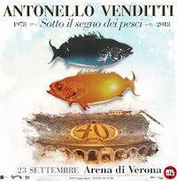 Antonello Venditt Arena di Verona 23 Settmbre