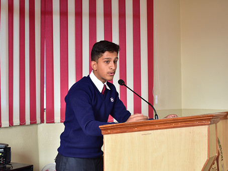Inter-House Debate Competition 2018