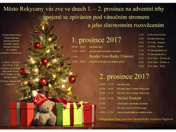 Rokycany - Rozsvěcení vánočního stromu