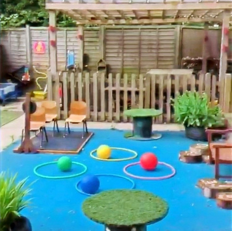 Our Private Garden Area