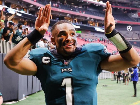 Bring On The Hurts: Eagles Win In Week One Over The Falcons