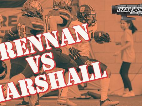 Slim Win for Brennan Over Marshall, 35-34