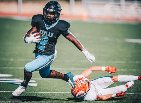 Harlan Remains Undefeated in District After Win Over Laredo Martin, 48-21