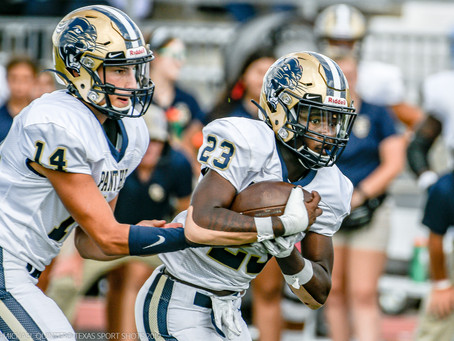 Panthers Pounce the Mustangs, 23-12