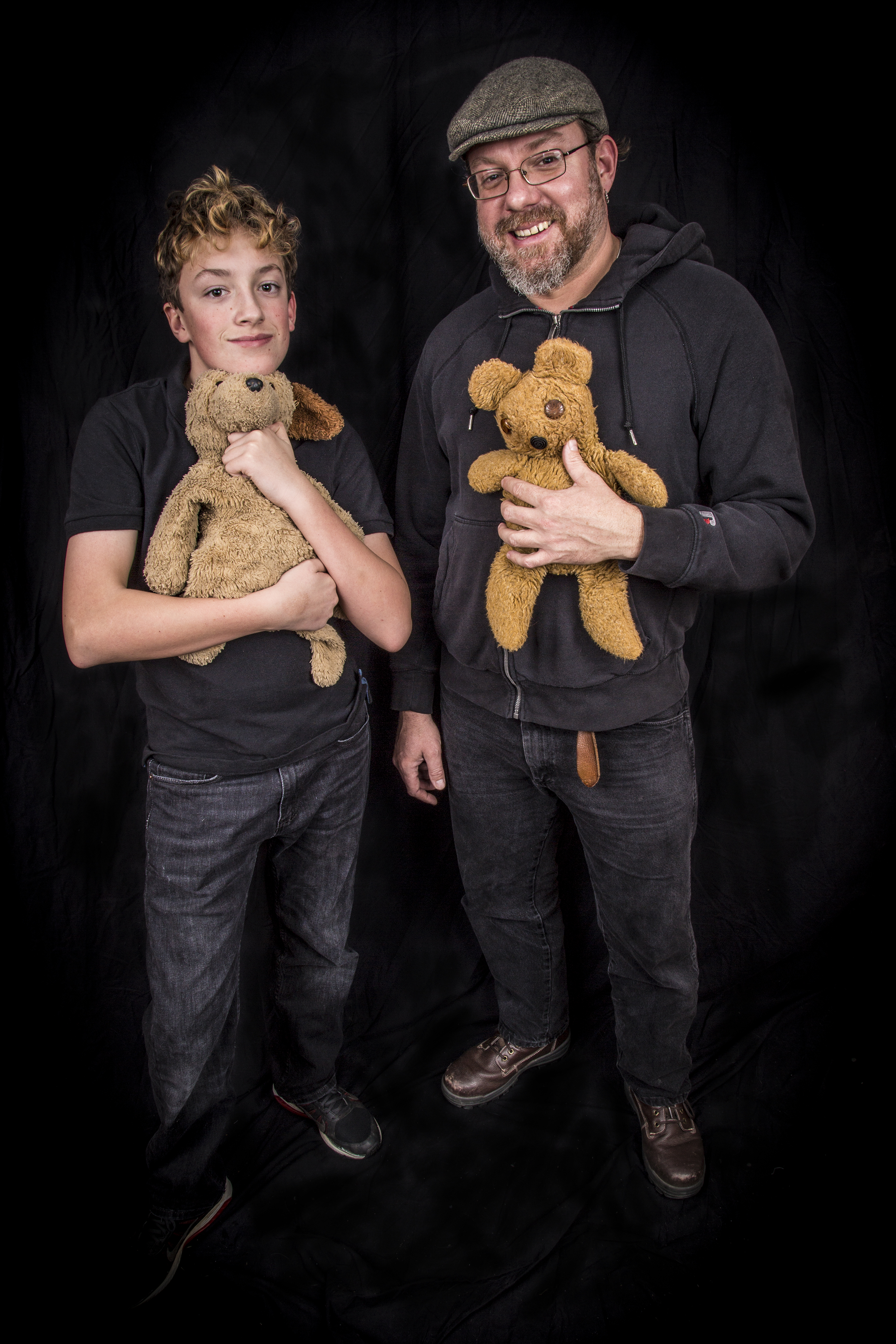 Josh & Ted E. Bear, Abel & Puppy