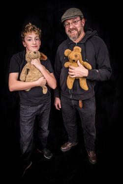 Josh & Ted E. Bear, Abel & Puppy