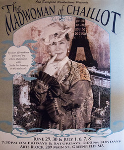Poster for Madwoman of Chaillot