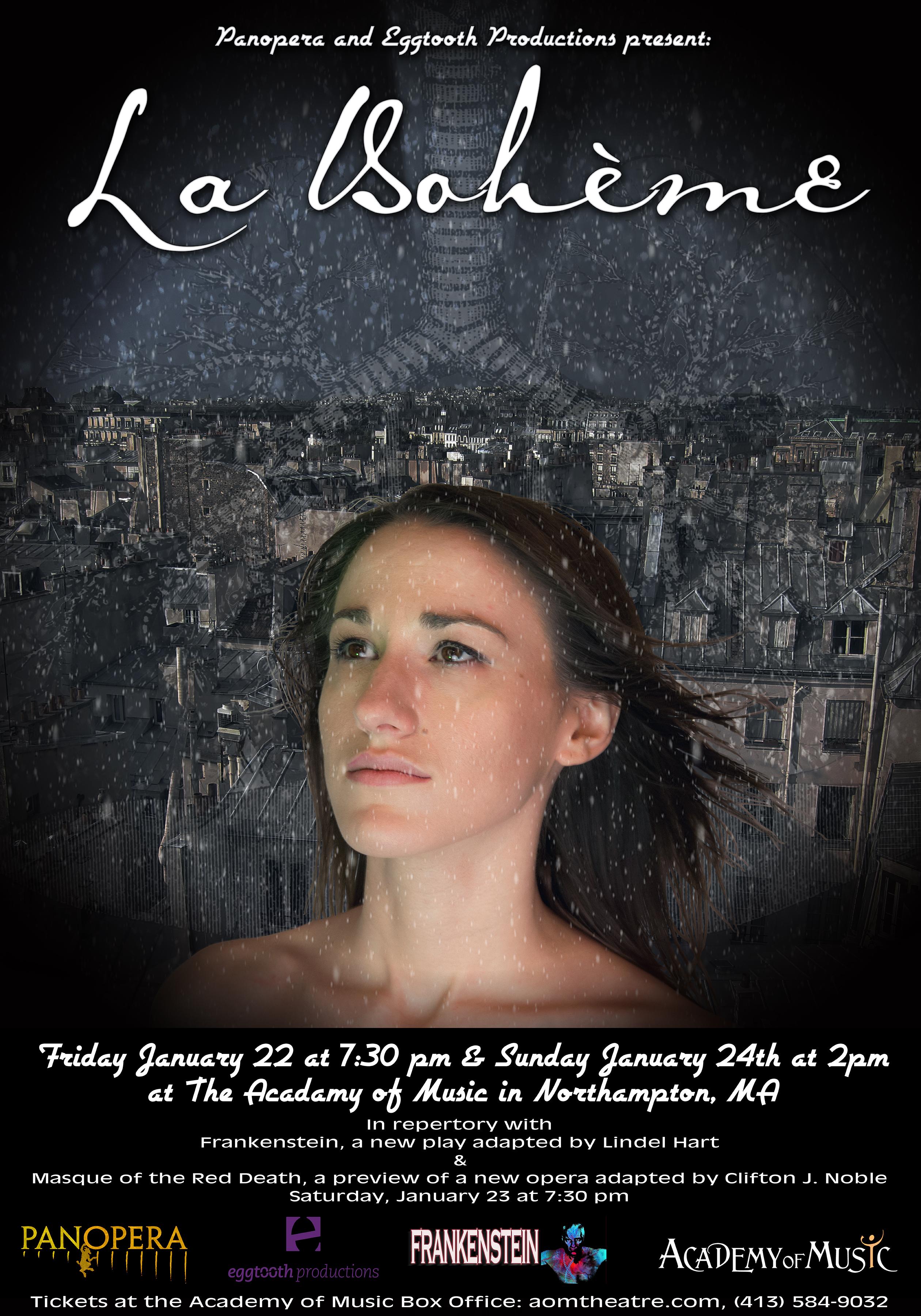 Poster for La Boheme