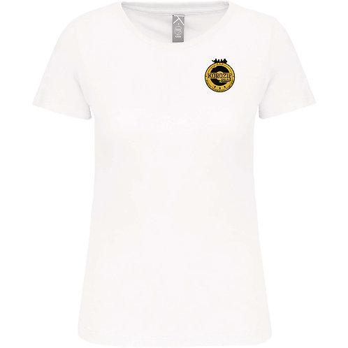 T-Shirt Femme Korozifprod blanc blason
