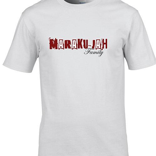 T-Shirt Maraku-jah family blanc