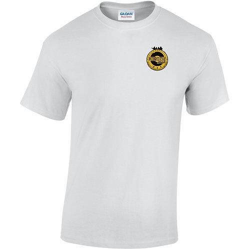 T-Shirt Korozifprod blanc blason