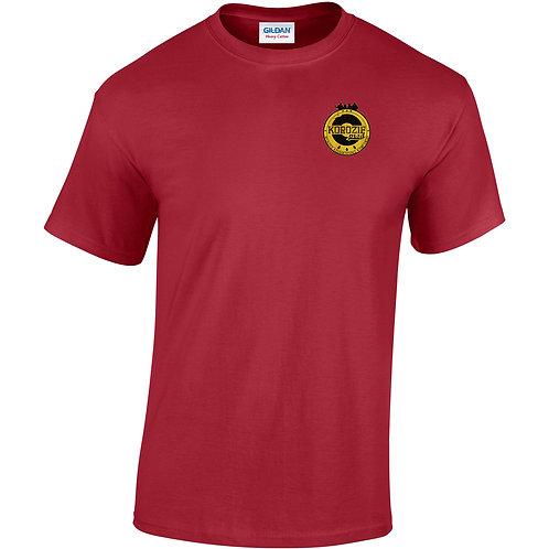 T-Shirt Korozifprod rouge blason