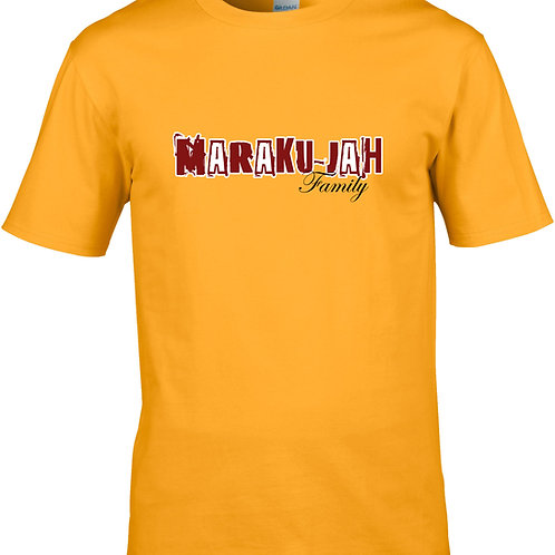 T-Shirt Maraku-jah family jaune