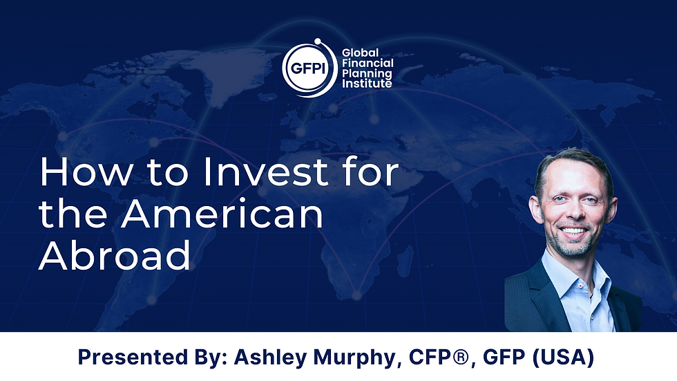 How to Invest for the American Abroad