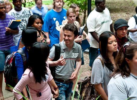 Strange Drop in College Enrollment
