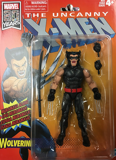 Marvel Legends Uncanny X-MEN WOLVERINE