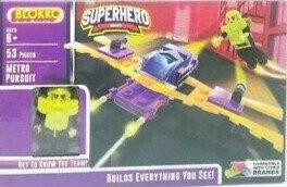 Blokko Kids Building Bricks LOT of 3 - Space, Pirates, Superhero
