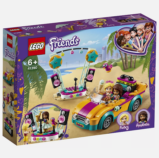 LEGO® Friends - Andrea's Car & Stage 41390 Brick