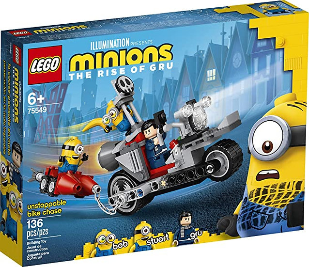 LEGO Minions The Rise Of Gru Unstoppable Bike Chase Minions (75549)