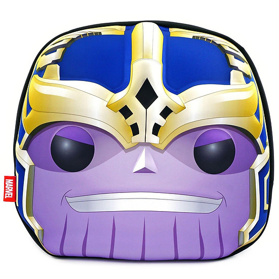 Funko Pop Marvel THANOS 3D Head Collectors Backpack w/3 Pop Carrying Case