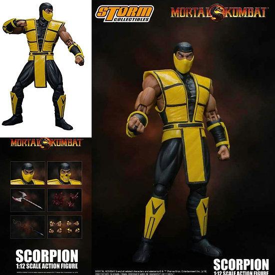 Mortal Kombat 3 Scorpion 1:12 Scale