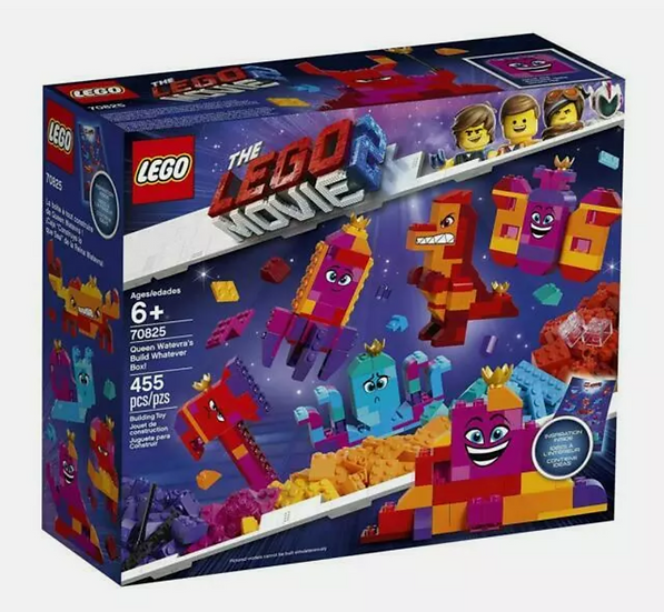 LEGO Queen Watevra's Build Whatever Box Set (70825)