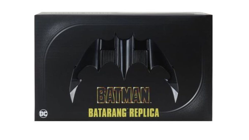 NECA BATMAN 1989 BATARANG REPLICA MOVIE PROP EXCLUSIVE
