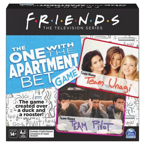 Friends TV Series Party Game Trivia 2-Set: The One with The Apartment & The Ball