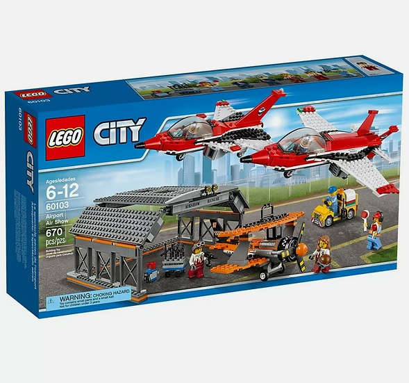 LEGO City 60103 - Airport Air Show - Brand New in Sealed Box! Retired!