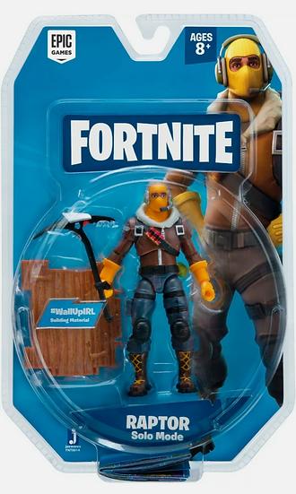 Fortnite - Raptor Solo Mode Core Figure Pack - New