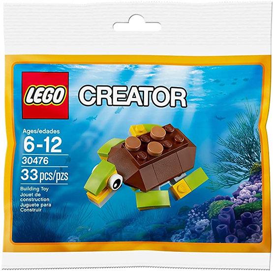 LEGO 30476 2017 Creator Happy Sea Turtle Sealed POLYBAG
