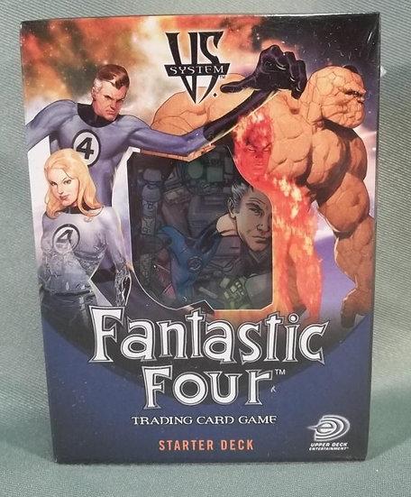 VS System Fantastic Four Starter Deck CCG